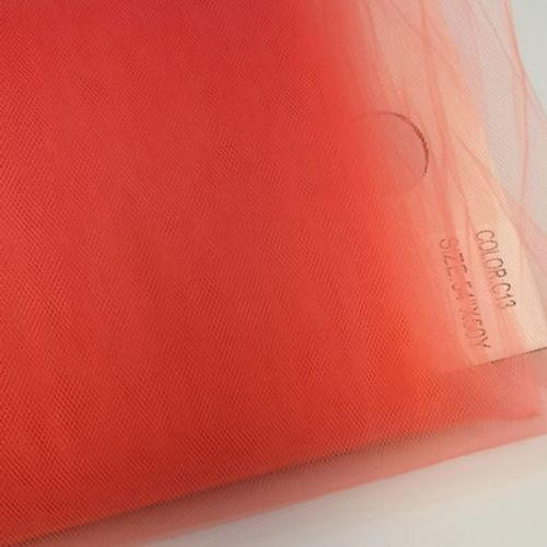Coral | Nylon Tulle 54"